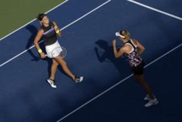 US Open - Elise Mertens passe aussi en double