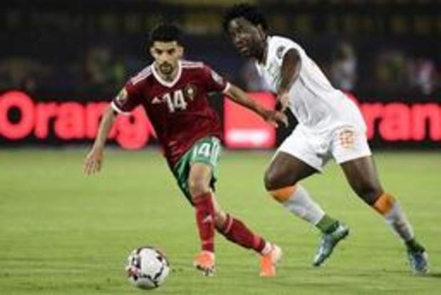 Africa Cup 2019 - Marokko na zuinige zege tegen Ivoorkust zeker van plaats in 1/8 finales
