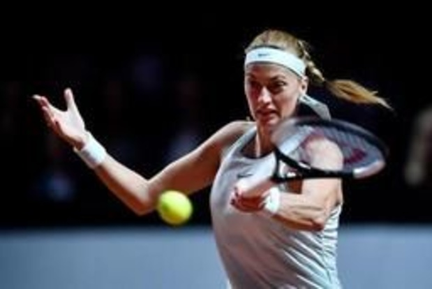 WTA Madrid - Titelverdedigster Kvitova zit bij laatste acht