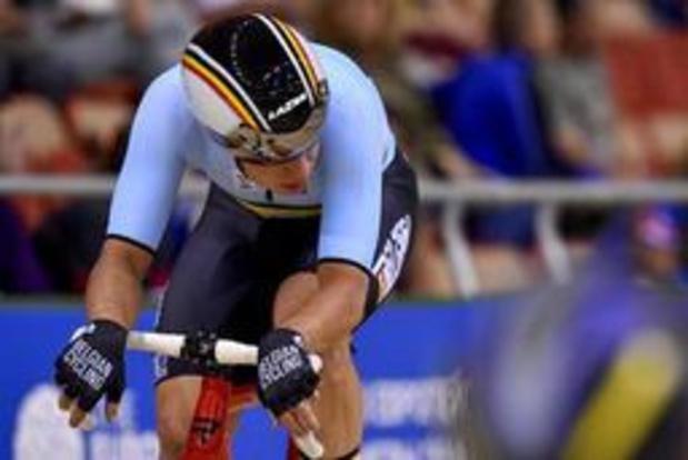 Europese Spelen - Gerben Thijssen achtste in puntenkoers