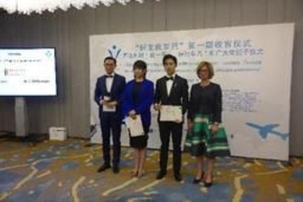 Les influenceurs chinois quittent la Belgique avec 21 millions de vues sur internet