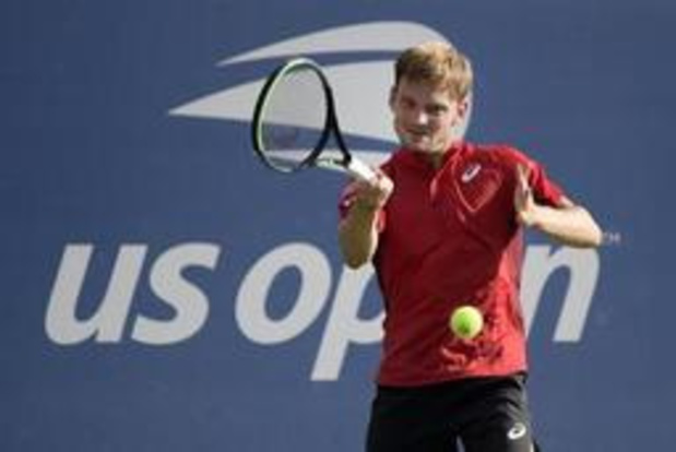 US Open - David Goffin in drie lange sets voorbij Pablo Carreno Busta