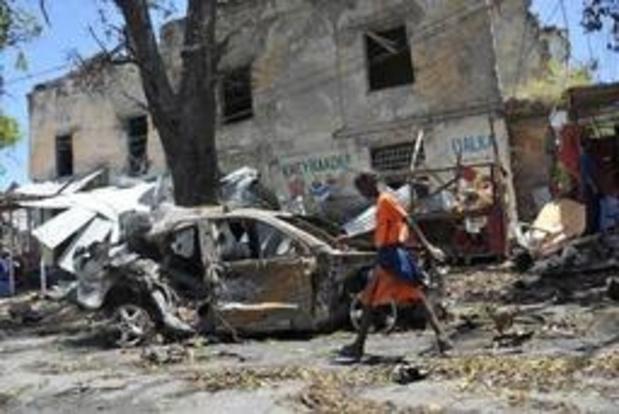 Minstens tien doden bij zelfmoordaanslag in Mogadishu