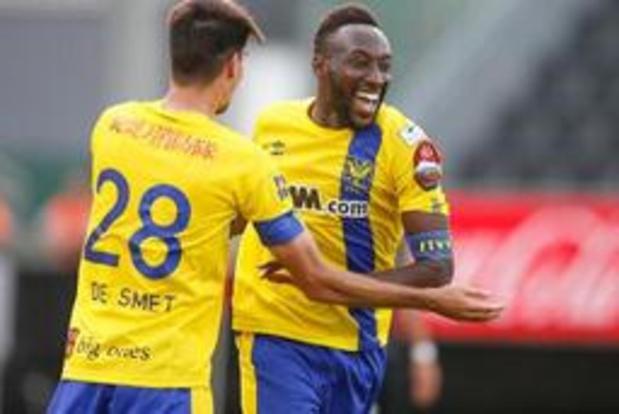 Jupiler Pro League - STVV viert bij Eupen eerste uitzege van het seizoen, Boli is de grote held