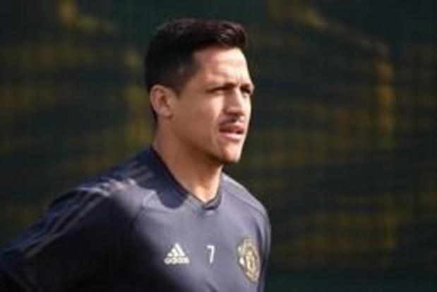 Alexis Sanchez de retour dans la sélection de Manchester United pour le match à Barcelone