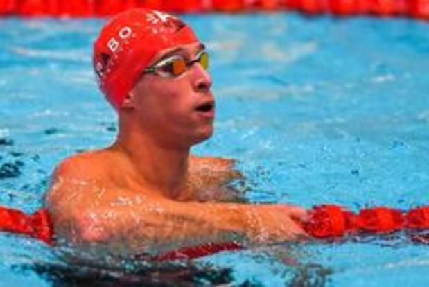 Halve finale is eindstation voor Pieter Timmers op 100m vrije slag