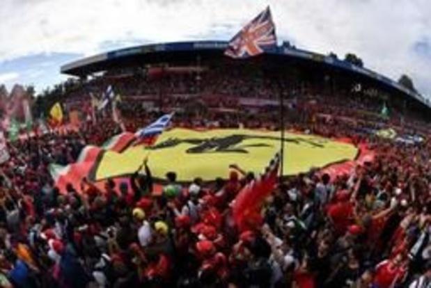 Monza restera au calendrier du championnat F1 cinq ans de plus