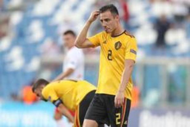 """Euro espoirs 2019 - """"Nous avions déjà perdu la rencontre avant le repos"""", pense Dion Cools"""