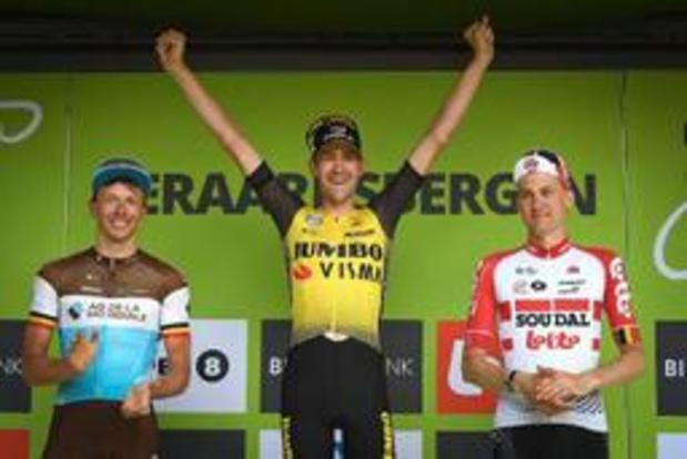 """BinckBank Tour - Tim Wellens passe à côté de la victoire: """"Le but n'était évidemment pas de terminer 3e"""""""