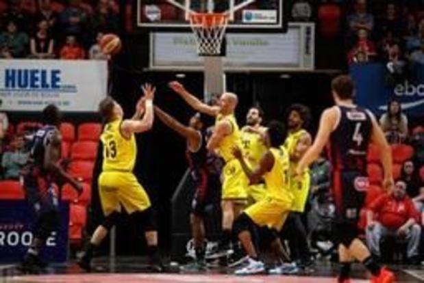 EuroMillions Basket League - Hiérarchie respectée dimanche avec les succès d'Ostende, Anvers et du Brussels