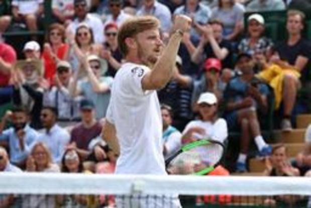 Goffin vient à bout de Verdasco et se qualifie pour les quarts à Wimbledon