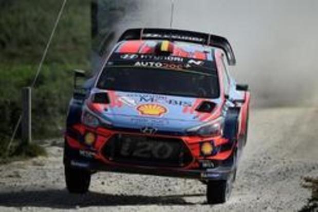 WRC - Thierry Neuville 3e après la 2e journée du rallye du Portugal