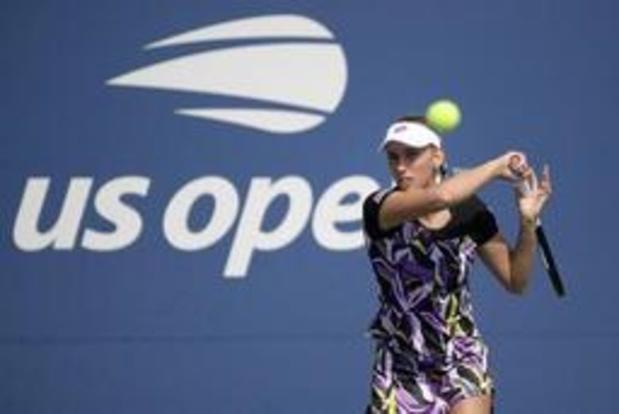 US Open - Elise Mertens plaatst zich vlot voor achtste finales