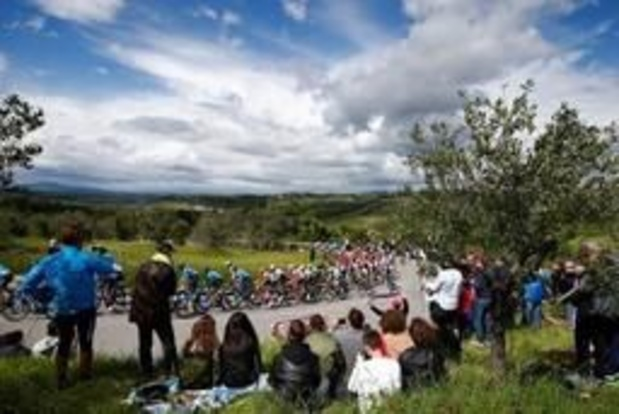 Lokaal Giro-circuit telt door regenweer niet mee voor klassement