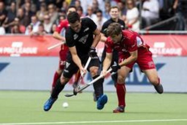 Hockey Pro League - Les Red Lions défient l'Australie ce soir à Anvers avec la première place pour enjeu