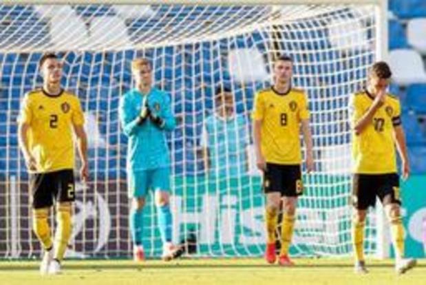 Euro espoirs 2019 - La Belgique s'incline 3-2 face à la Pologne après avoir mené au score