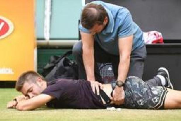 US Open: blessé au dos, Borna Coric jette l'éponge