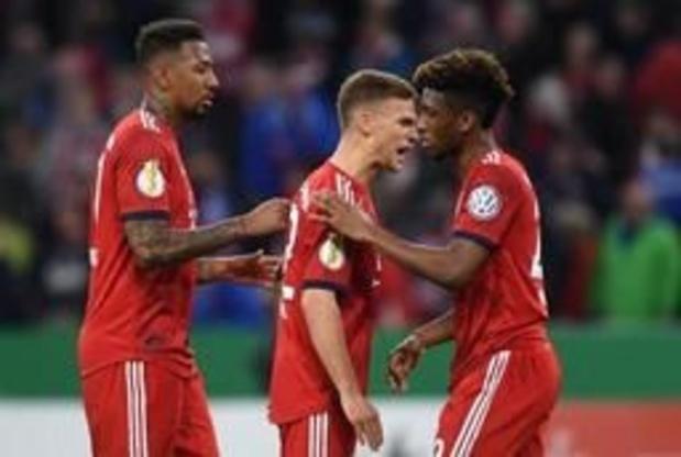 Bayern ontsnapt aan blamage tegen tweedeklasser in kwartfinale Duitse beker