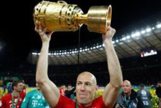 Arjen Robben zet punt achter voetbalcarrière