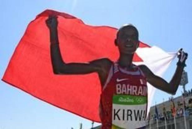 Eunice Kirwa, vice-championne olympique de marathon à Rio, provisoirement suspendue