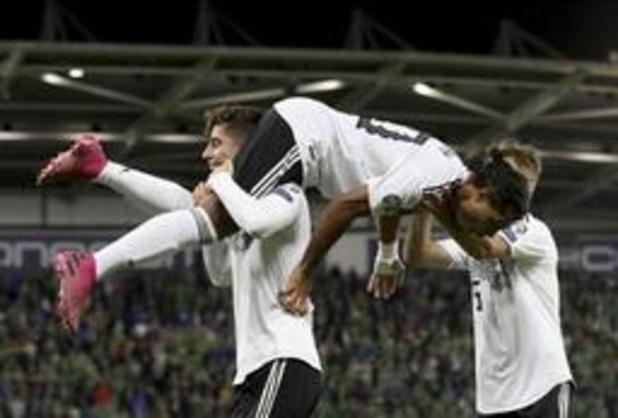 Qualifications Euro 2020 - L'Allemagne se rassure, les Pays-Bas et la Belgique carburent
