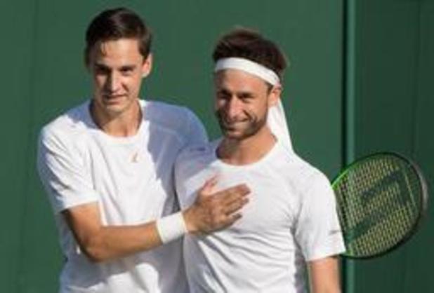 US Open - Sander Gille et Joran Vliegen éliminés au premier tour en double