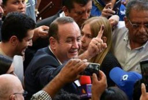 Giammattei claimt overwinning na presidentsverkiezingen in Guatemala