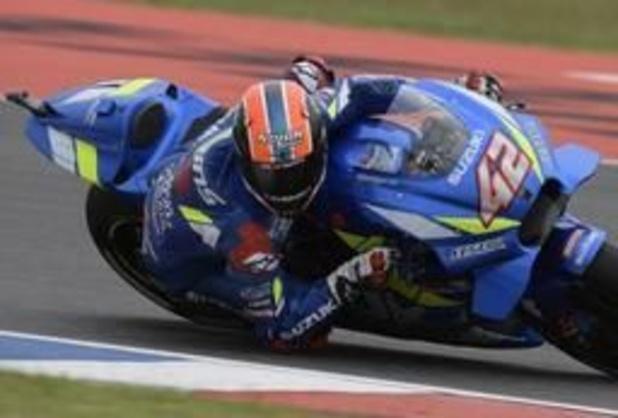 WK snelheid - GP van de Amerika's - Spanjaard Rins gaat met zege in MotoGP aan de haal