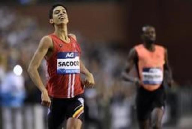 Jonathan Sacoor signe la meilleure performance européenne de l'année sur 400 m