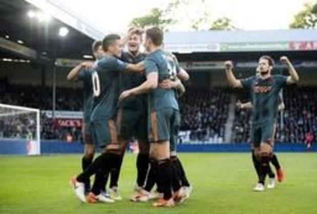 Eredivisie - Ajax kroont zich voor 34e keer tot landskampioen