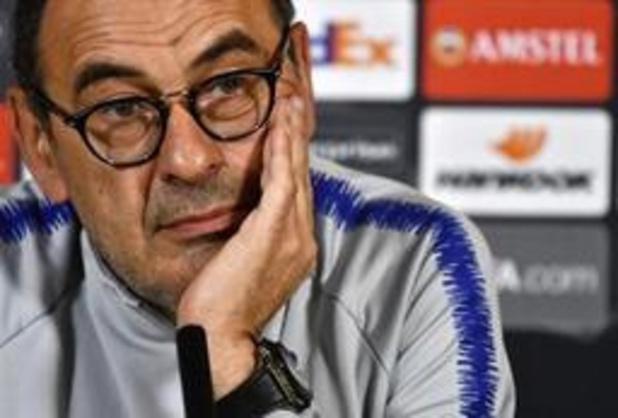 """Pour Maurizio Sarri, la Juventus """"est le couronnement d'une longue carrière"""""""