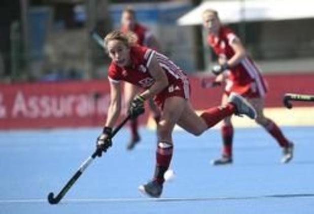Finales Play-offs de hockey - L'Antwerp bat le Racing 2-1 dans la 1re manche dames et prend une option sur le titre