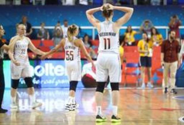 EK basket (v) - Belgian Cats moeten barragewedstrijd spelen na 70-66 nederlaag tegen Servië
