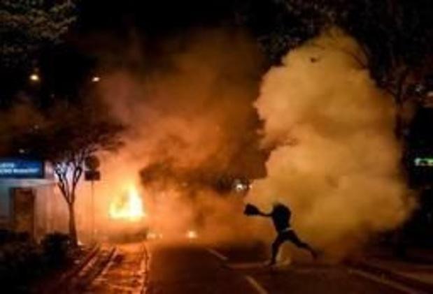 Verschillende gewonden bij straatprotest tegen regering in Albanese hoofdstad