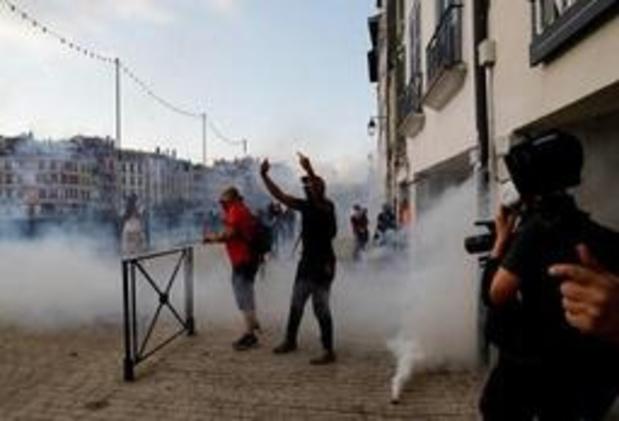 G7 Biarritz - Des heurts lors d'une manifestation anti-G7 à Bayonne