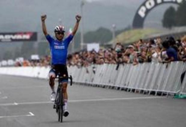 Diego Ulissi wint testevent olympische wegrit, Loïc Vliegen 5e