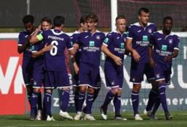 Anderlecht haalt achterstand op op bezoek bij Hamburg