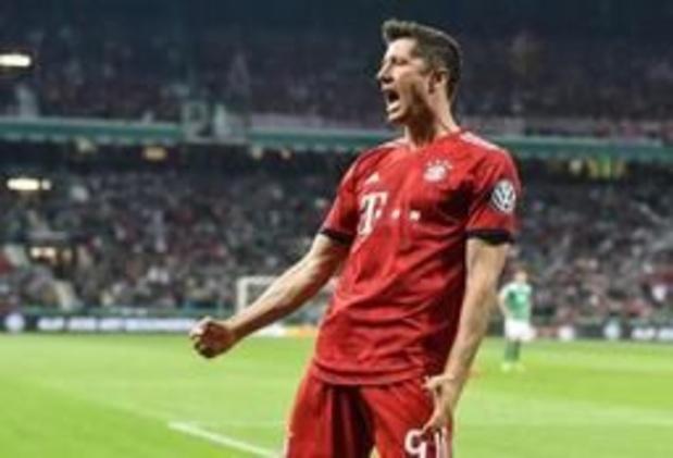 DFB Pokal - Bayern München vervoegt RB Leipzig in finale