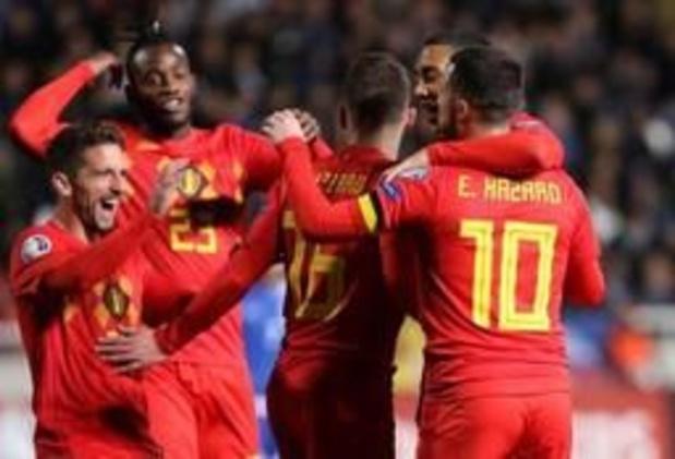 Rode Duivels staan morgen voor zesde keer op rij bovenaan FIFA-ranking