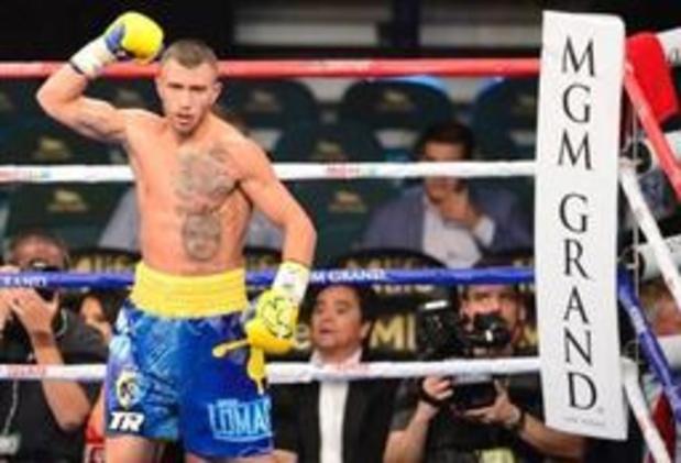 Lomachenko nouveau champion WBC, a une ceinture de la réunification totale