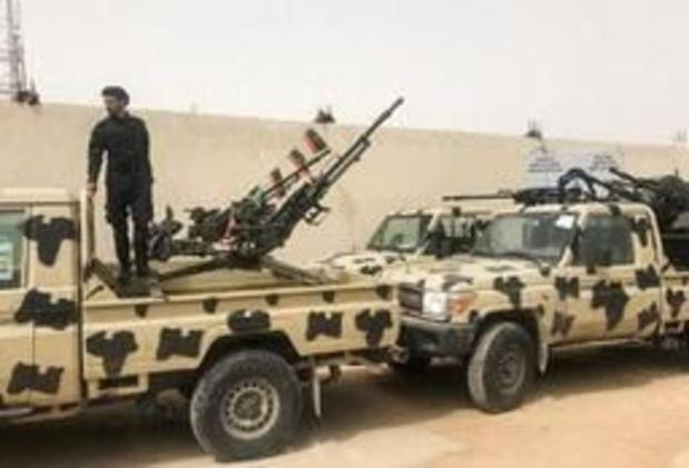 Luchtaanval op troepen van Haftar ten zuiden van Tripoli