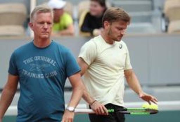"""Roland-Garros - Johansson, le coach de Goffin : """"À l'entraînement, il a le niveau du Top-10"""""""