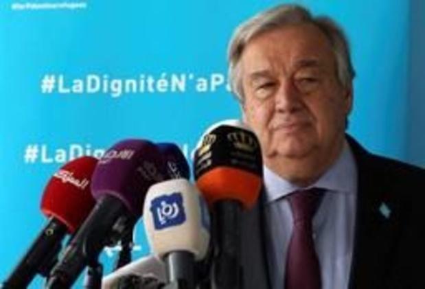 """""""Er is nog tijd voor staat-het-vuren"""" in Libië, stelt Guterres"""