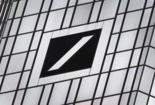 Deutsche Bank visée par une enquête pénale aux Etats-Unis