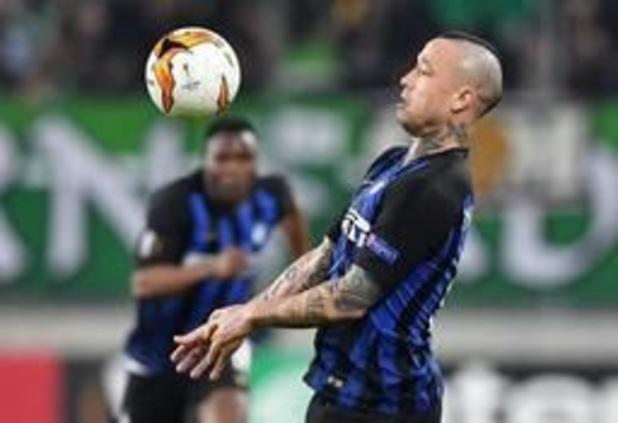 Belgen in het buitenland - Nainggolan geraakt met Inter niet verder dan een scoreloos gelijkspel op Udinese