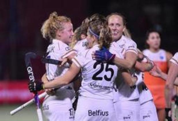 "EK hockey (v) - Red Panthers houden ""geweldig gevoel"" over aan stuntdraw tegen Nederland"