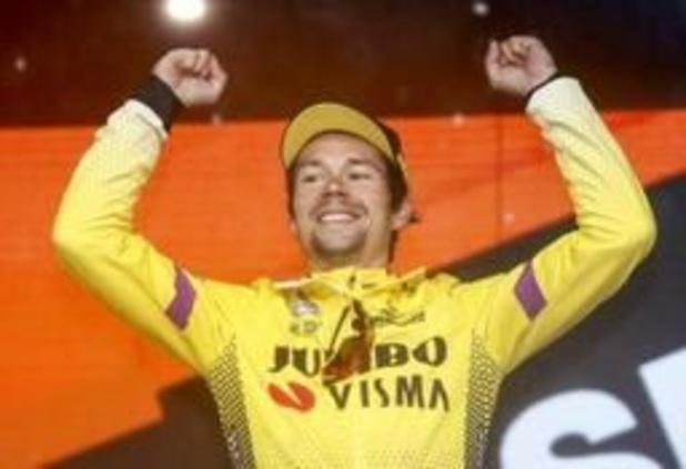 Primoz Roglic neemt met veel machtsvertoon het rood over in de Vuelta