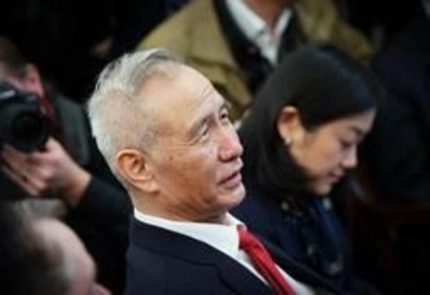 Chinese vicepremier reist naar VS voor handelsgesprekken
