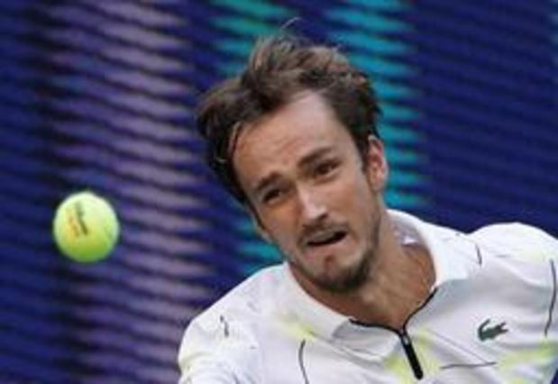 US Open - Medvedev voorbij Wawrinka naar halve finales