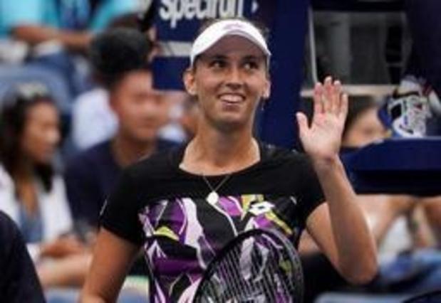 """US Open - Mertens is dolgelukkig met finaleplaats in het dubbel: """"Maar het is nog niet gedaan"""""""